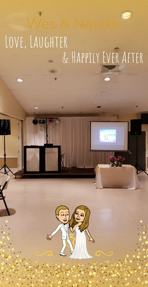 BME Setup Stull Wedding 6-22-19